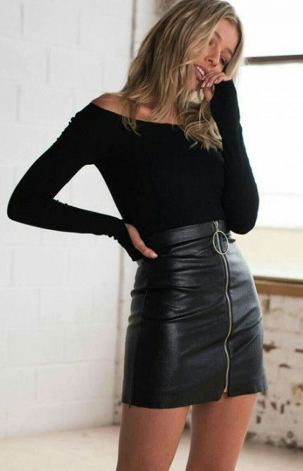37 Trendy Skirt Black Outfit Party