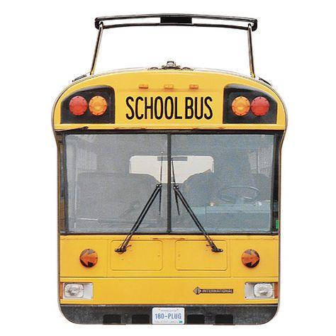 School Bus Can Case スクールバス バッグ ケース