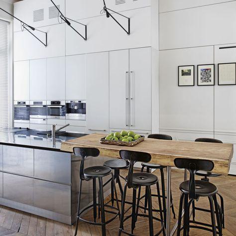 In einer der begehrtesten Gegenden von Paris fand die Architektin Isabelle Stanislas eine Altbauwohnung. A