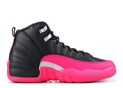 "Brand New Air Jordan 12 Retro GG /""Deadly Pink/"" Fashion Sneakers 510815 026"