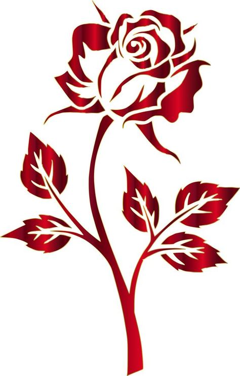 Rose Drawing Rose Drawing Crimson Rose Silhouette No Background by GDJ This . Rose Drawing Rose Drawing Crimson Rose Silhouette No Background by GDJ This image has get 7 rep Rose Stencil, Stencil Art, Drawing Stencils, Flower Stencils, Stencil Patterns, Stencil Designs, Applique Patterns, Paint Designs, Wood Burning Patterns
