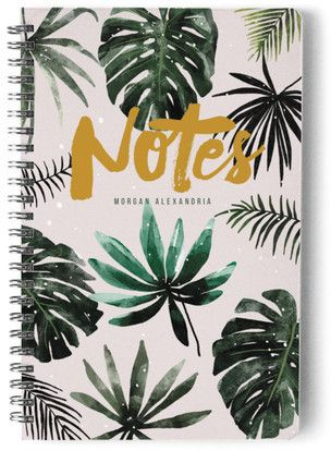 Tropical Leaves Day Planner Notebook Or Address Book Tropical Leaves Day Planners Journal Stationery Tropical leaves are the perfect way to transform your home into an island oasis and there are plenty of it's hard to choose just one type of tropical leaf, that's why we created a visual guide to help you. pinterest
