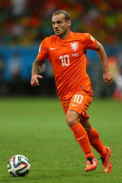 Wesley Sneijder - Wesley Sneijder Photos - Netherlands v