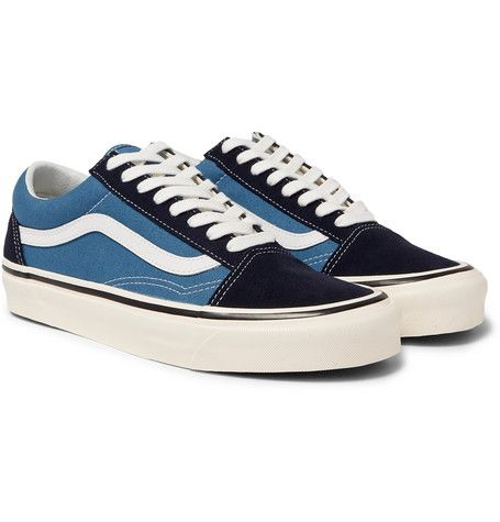 VANS ANAHEIM FACTORY UA OLD SKOOL 36 DX LEATHER TRIMMED
