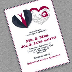 hearts couple shower invitation wwwprintableinvitationkitscom wedding invitation templates free to print pinterest invitations
