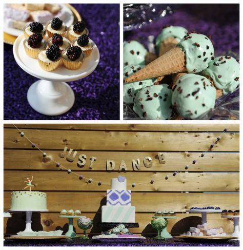 Mint and Lavender Dance themed birthday party via Kara's Party Ideas KarasPartyIdeas.com Cake, desserts, favors, printables, recipes, and more! #dance #danceparty #mintandlavender (1)