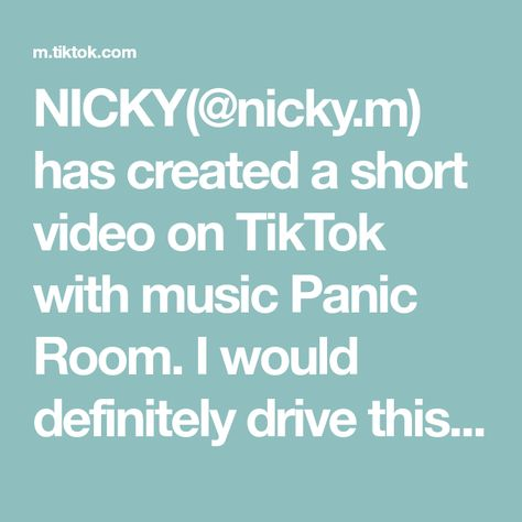NICKY(@nicky.m) has created a short video on TikTok with music Panic Room. I would definitely drive this road, would you? 🤯🚨 #panicroom #funfact #france #themoreyouknowchallenge