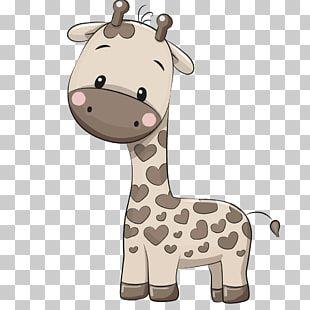 Jirafa Gris Y Negra Ilustracion De Dibujos Animados De Jirafa Jirafa Pintada A Mano Png Clipart Clip Art Giraffe Safari Party