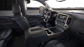 Interior Image Of The 2018 Sierra Denali Hd Heavy Duty Luxury