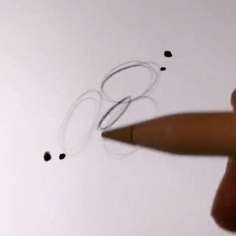 Simple process of drawing lips #Draw #Pad #Art process #Draw #ar ...  #drawing #process #simple