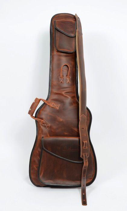 Bags Straps Luthman Unique Handmade En Guitar Bag Leather Guitar Straps Guitar Case