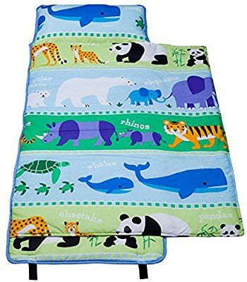Amazon Com Wildkin 100 Cotton Nap Mat Olive Kids By Children S Cotton Nap Mat With Built In Blanket And Pillowcase Pillow With Images Olive Kids Kids Nap Mats Nap Mat