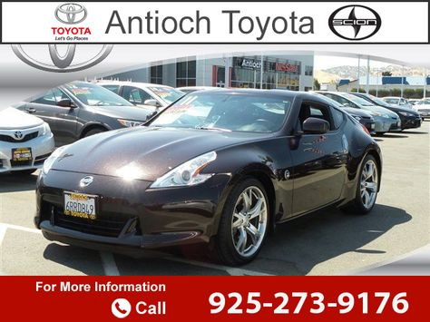 2011 *Nissan*  *370Z* Call for Price  miles 925-273-9176 Transmission: Automatic  #Nissan #370Z #used #cars #AntiochToyota #Antioch #CA #tapcars
