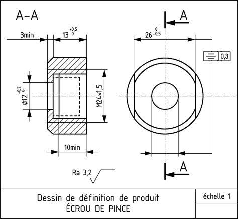dessin technique porte du0027entrée - Recherche Google Détails