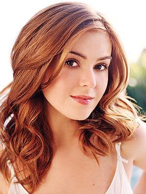 love miss Isla's auburn hair and brown eyes.  wish mine were natural, too