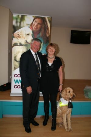 Jonnie The First Labradoodle Guide Dog To Graduate From