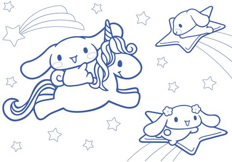 Cinnamoroll Coloring Pages Kawaii 52350 Jpg 800 562 Pixels Hello