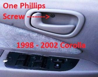 Tackle The Toyota Corolla Interior Door Handle Problem Best Interior Design Websites Doors Interior Door Handles