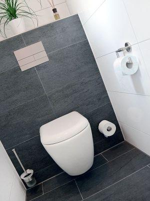 Die besten 25+ Wc höhe Ideen auf Pinterest Badezimmer - badezimmer mit grauen fliesen