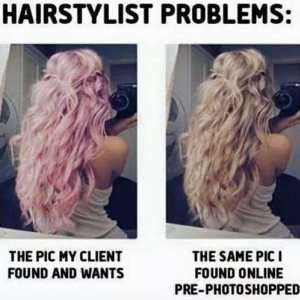 The Hair Color Conspiracy Hairstylist Problems Hair Humor Hair