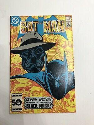 Batman 386 First Appearance Of Black Mask Ebay In 2020 Comic Books For Sale Black Mask Batman Black Mask