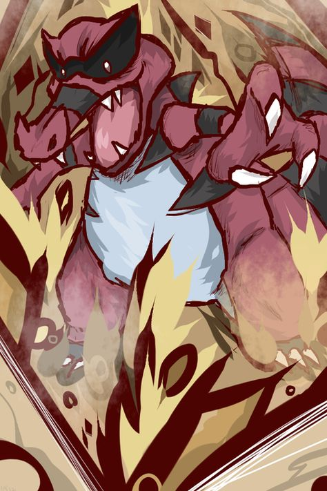 Pokemon - Krookodile