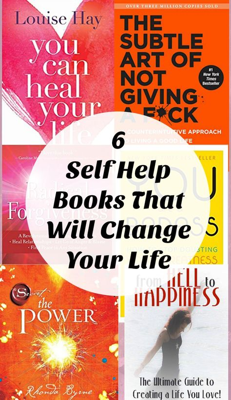 6 of the Best Self Help Books That Will Totally Transform Your Life