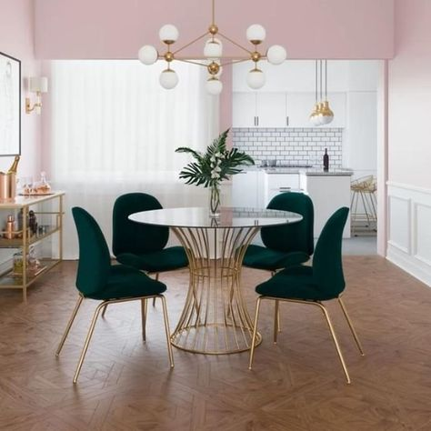 Throwing a dinner party just to show off your stylish furniture?! We don't make the rules 🌟 Shop the Cosmo Living collection via the link in our bio. #Wayfair
