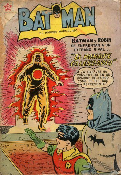 Batman El Hombre Murcielago 62 March 1959 Editorial Novaro
