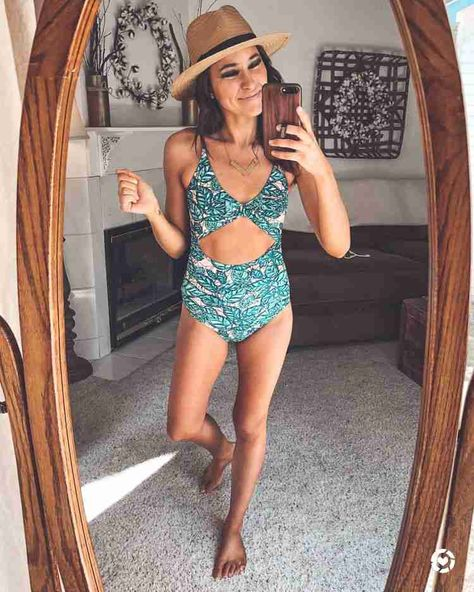 Cutest swimsuits for spring break or summer vacation! I tried 15 swimsuits for you, and have the perfect one for every occasion. #amazon #amazonfashion #amazonfinds #amazonswim