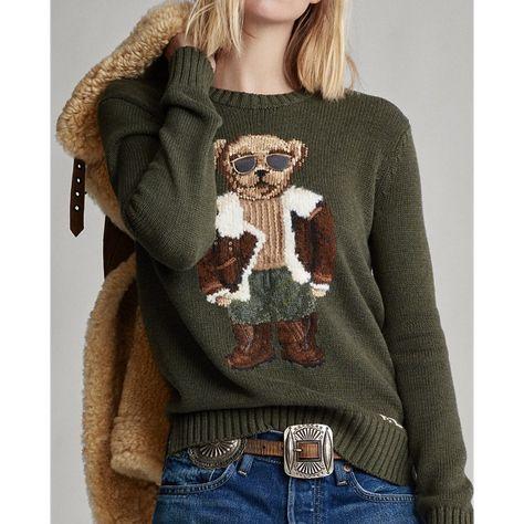 Aviator Polo Bear Sweater