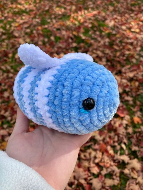 Crochet Bee, Kawaii Crochet, Cute Crochet, Crotchet, Crochet Toys, Easy Crochet Animals, Crochet Animal Patterns, Stuffed Animal Patterns, Beginning Crochet