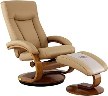 New Ridge Home Goods Hanover Recliner Large Cobblestone Tan Top Grain Leather In 2020 Recliner With Ottoman Top Grain Leather Recliner