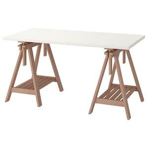 Epingle Par Ellen Mclean Sur House Bits Table Ikea Chevalet Bureau Ikea