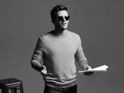 621638584a Actor Scott Eastwood proves the  NewGeneration blazes its own trail while  donning new Persol 649 sunglasses
