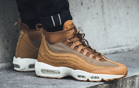 Look For The Nike Air Max 95 Sneakerboot Flax Now Nike Air Max