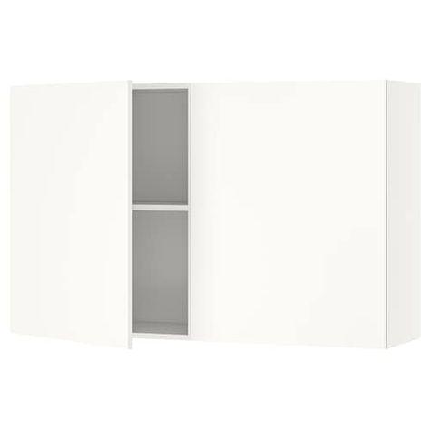 Armadio Ikea Bianco Due Ante.Knoxhult Mobile Base Con Ante E Cassetto Bianco 180 Cm Ikea