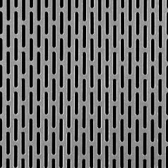 Slotted Perforated Carbon Steel 16880022 Carbon Steel Perforated Metal Perforated