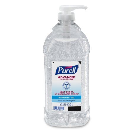Industrial Scientific Hand Sanitizer Fragrance Free Hand
