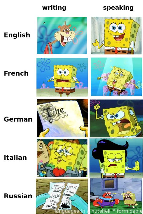 #Memes  - languages in a nutshell – raw