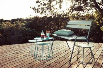 Banc De Jardin En Acier Monceau Cactus Leroy Merlin En 2020 Table Basse Table Basse Metal Mobilier Jardin