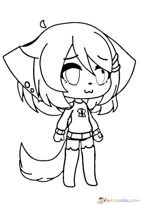 Gacha Life Coloring Pages Lineart Cute Coloring Pages Coloring Pages Nemo Coloring Pages