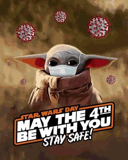 May The 4th Be With You Happy Monday Monday Maythe4thbewithyou Mondayvibes Maytheforcebewithyou Starwa May The 4th Be With You May The 4th Star Wars Gif