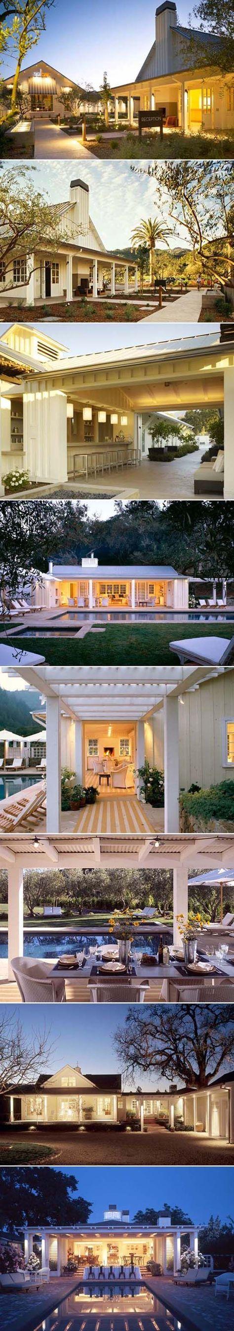 white modern farmhouse ranch homes   Interior Design, Architecture ...