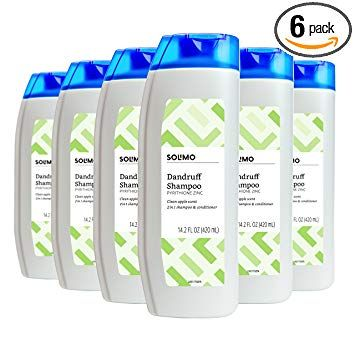 Amazon Brand Solimo 2 In 1 Dandruff Shampoo Clean Apple Scent
