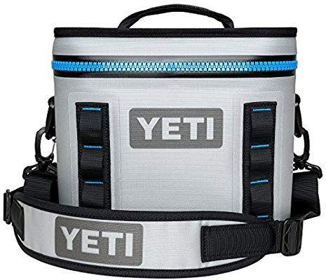 Amazon Com Yeti Hopper Flip 8 Portable Cooler Fog Gray Sports Outdoors Soft Cooler Portable Cooler Yeti Cooler