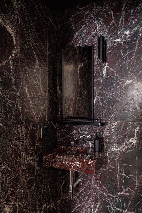 Lagrange House Turin 2017 Fabio Fantolino Marble Bathroom Bathroom Interior Design Black Marble Bathroom