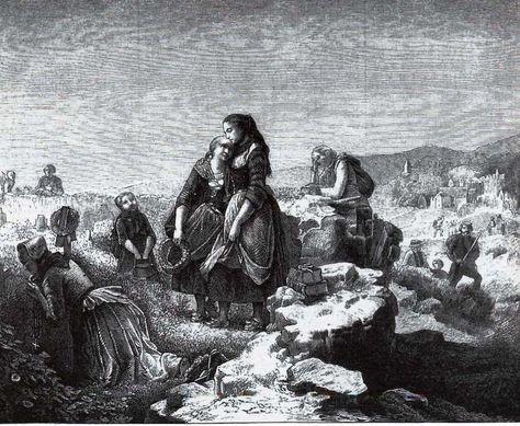 Abschied der Auswanderer. In: Die Gartenlaube,1856, S. 481