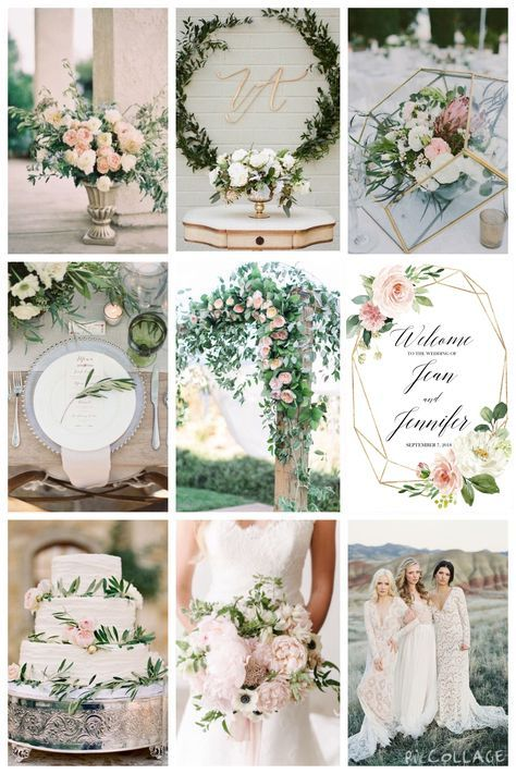 blush and gold welcome wedding sign with greenery welcomesign blushwedding goldwedding greenerywedding blushwelcome goldwelcome 818810775986171360