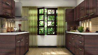 Semi Modular Kitchen In India Designs Dailymotion India Design Dining Room Design Design